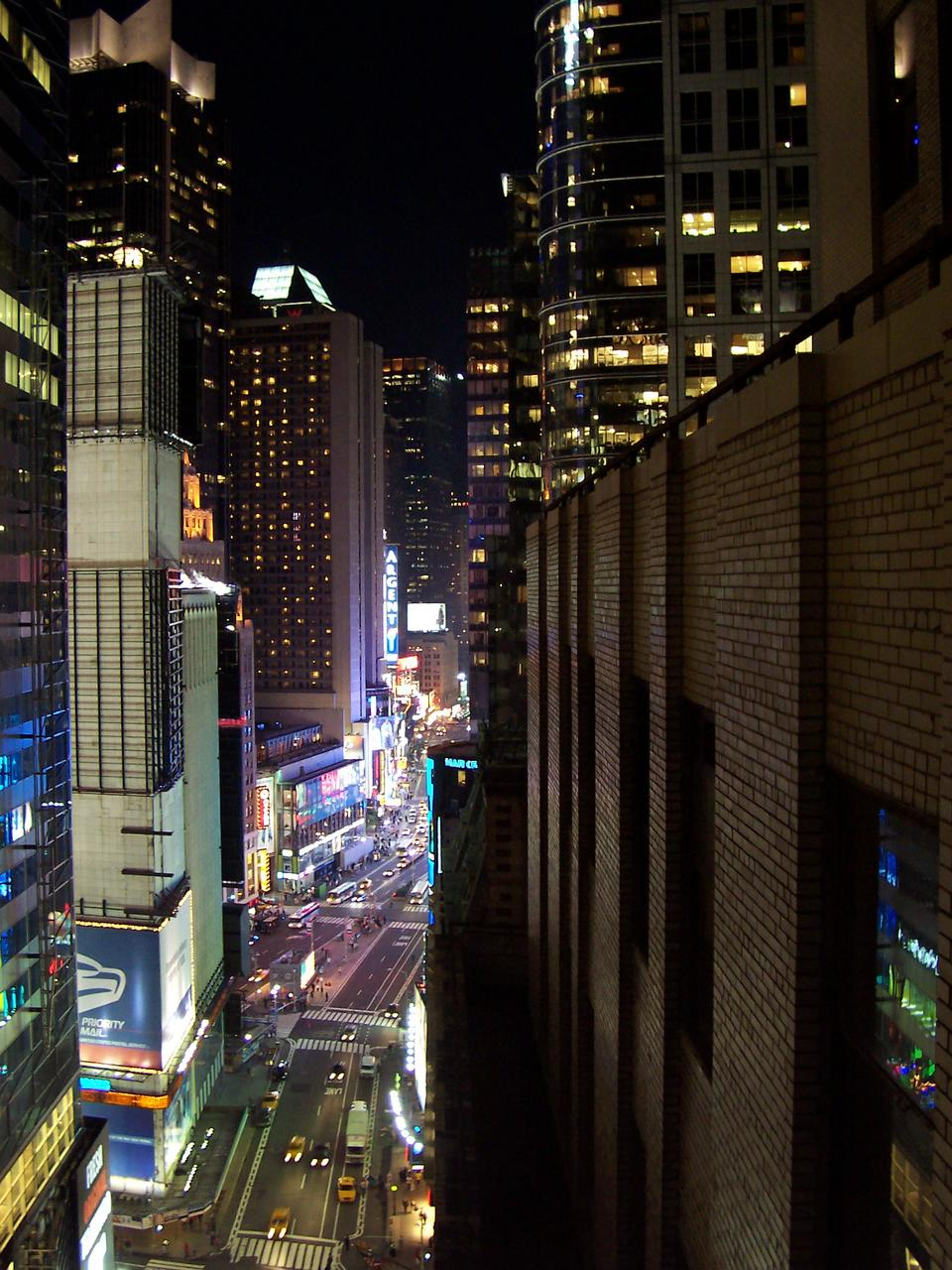 times square from 1440 broadway